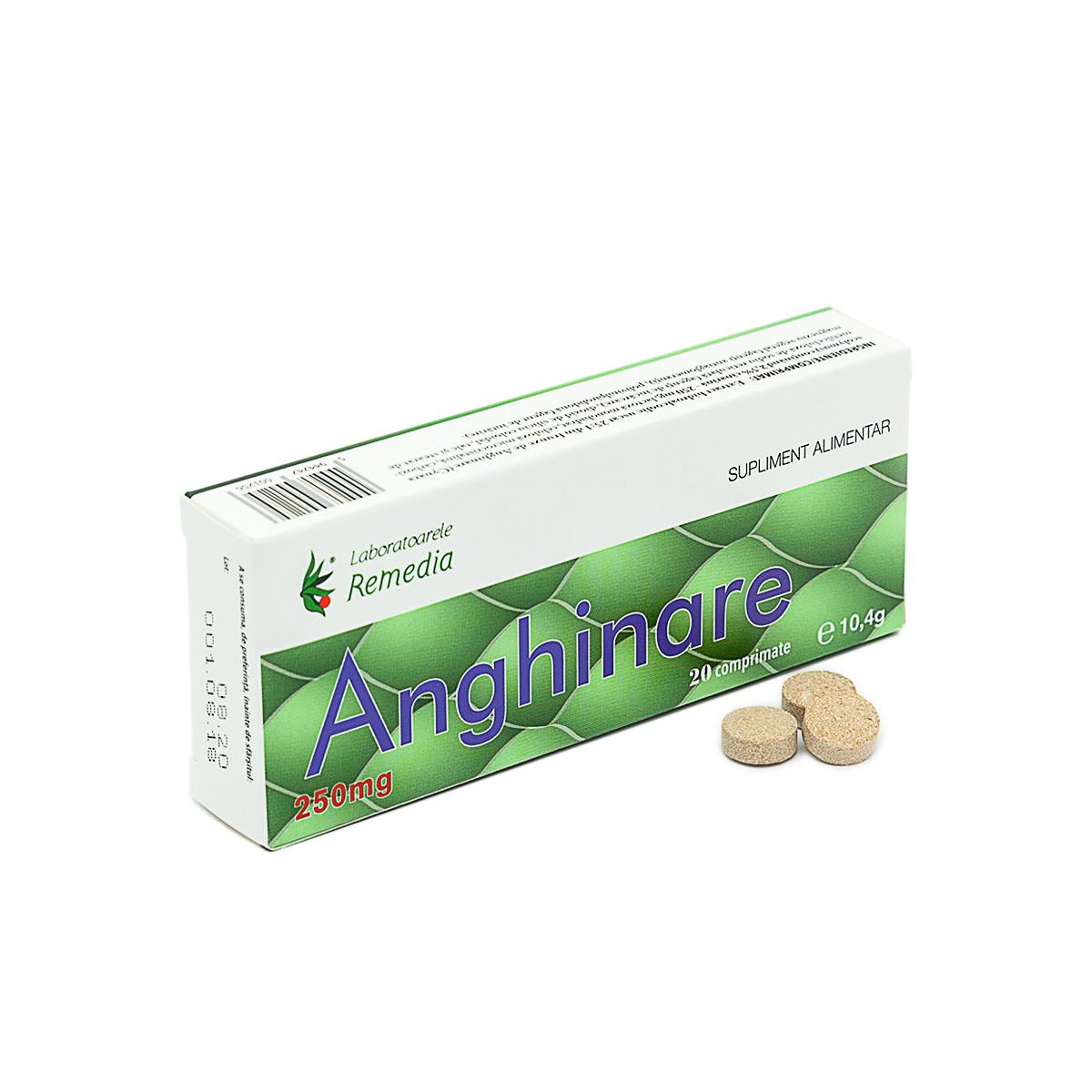Anghinare 250mg, 20 comprimate, Remedia