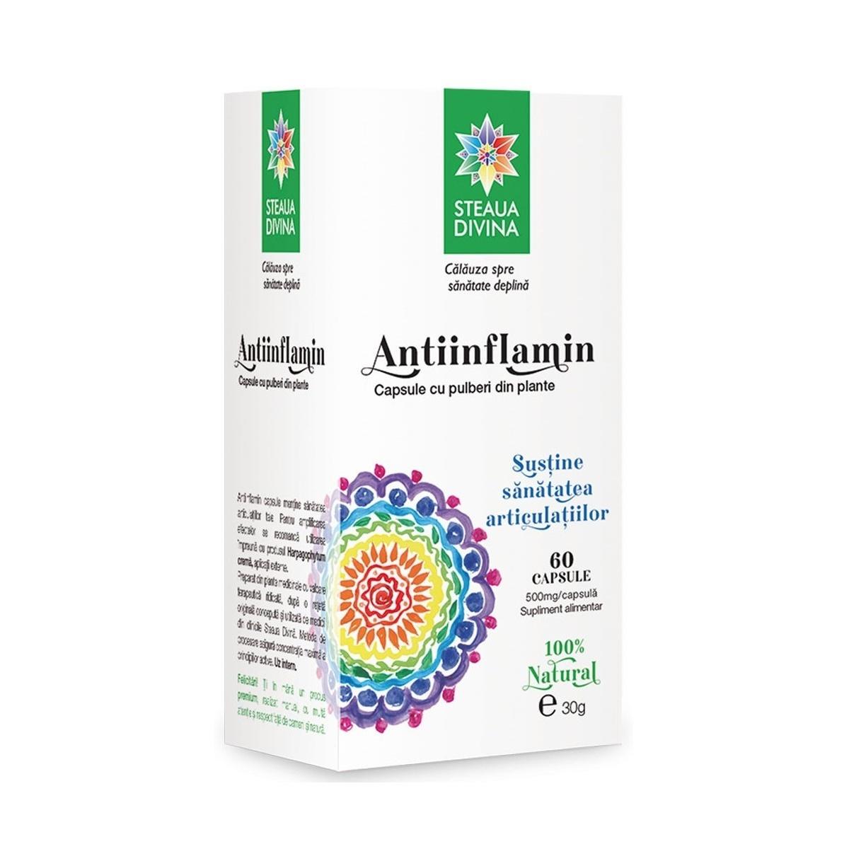 Antiinflamin, 60 capsule, Steaua Divină