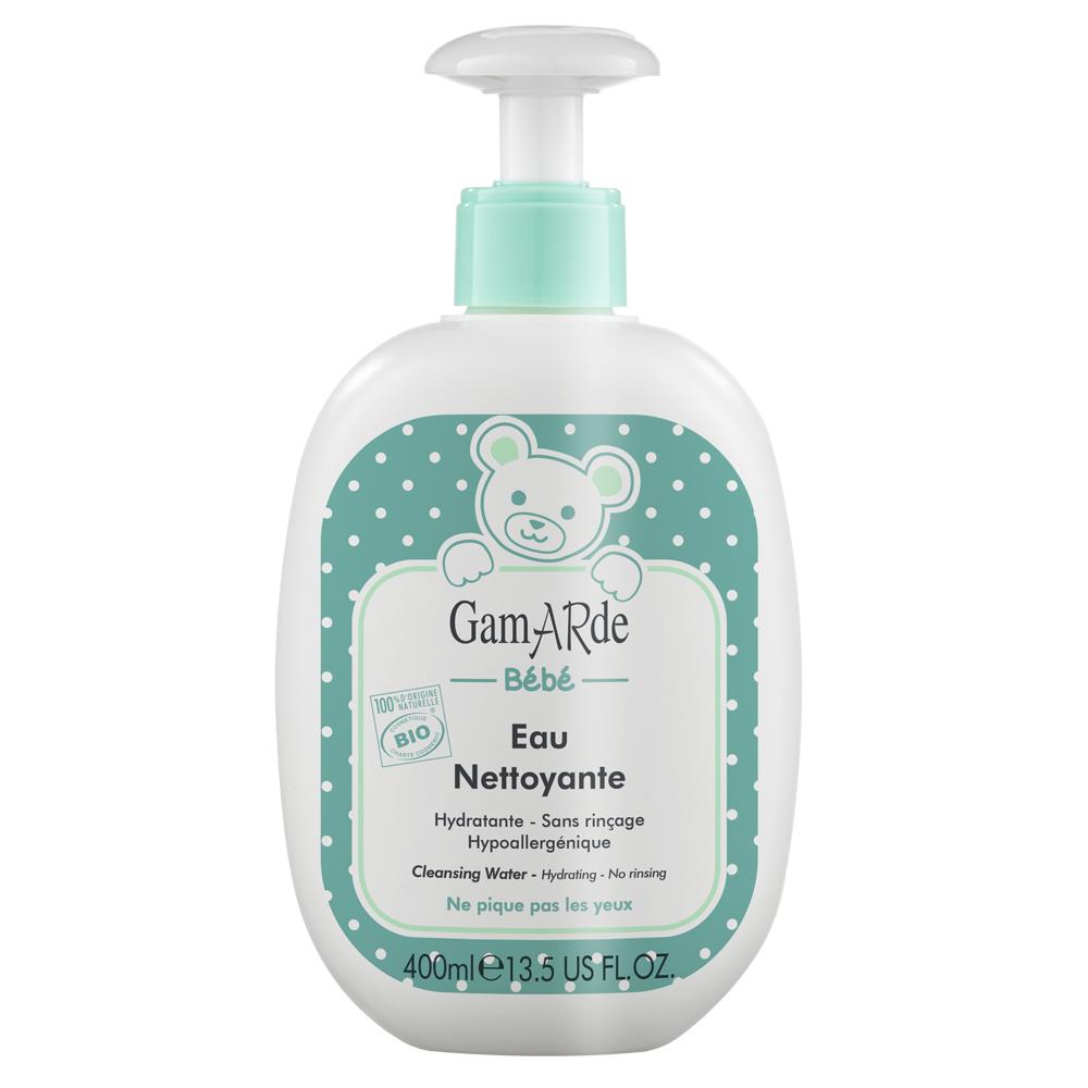 Apă Bio de curățare fără clătire bebeluși, 400 ml, Gamarde