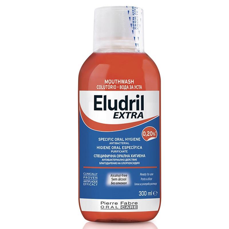 Apa de gura, 300 ml, Eludril Extra