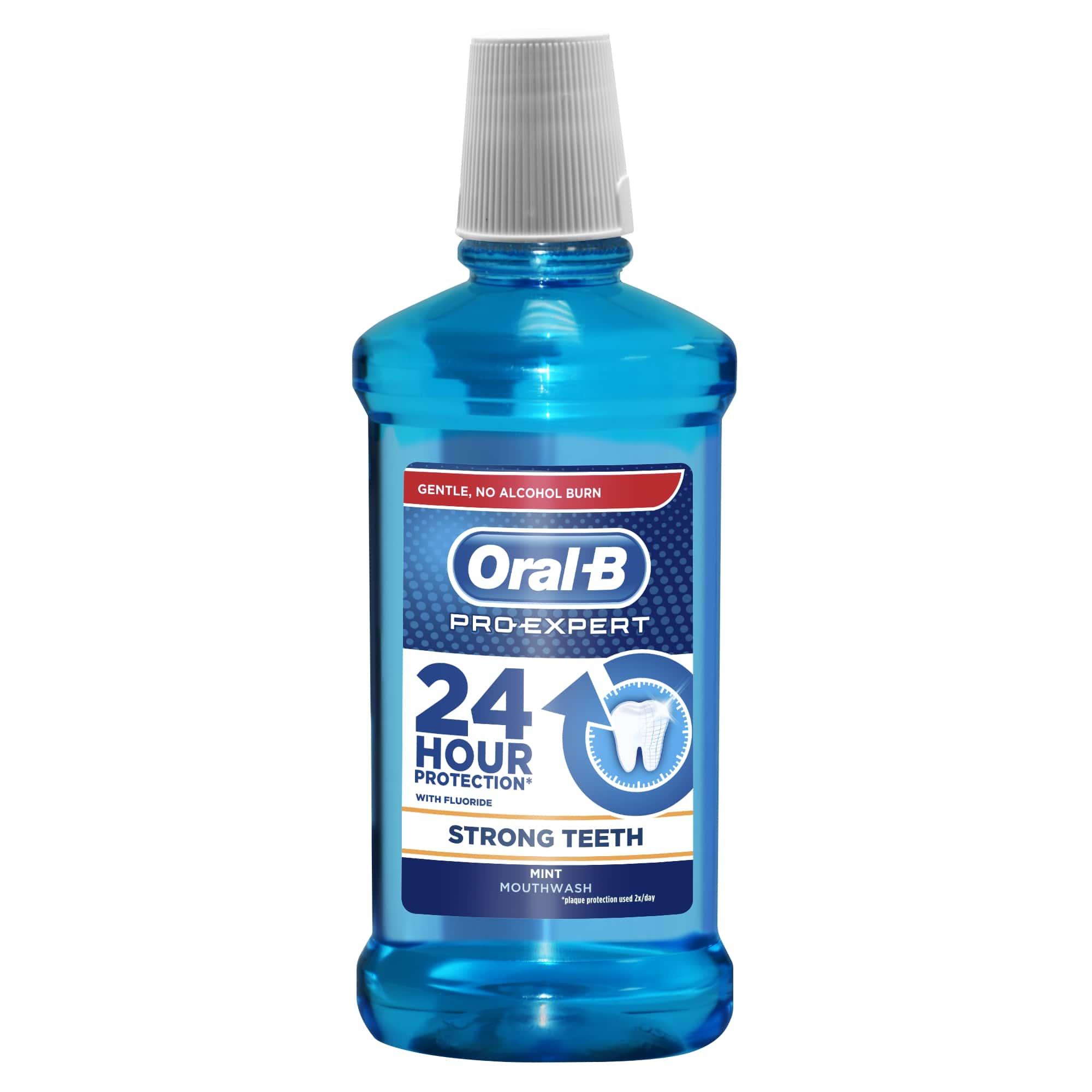 Apa de gura ProExpert Strong Teeth, 500 ml, Oral-B