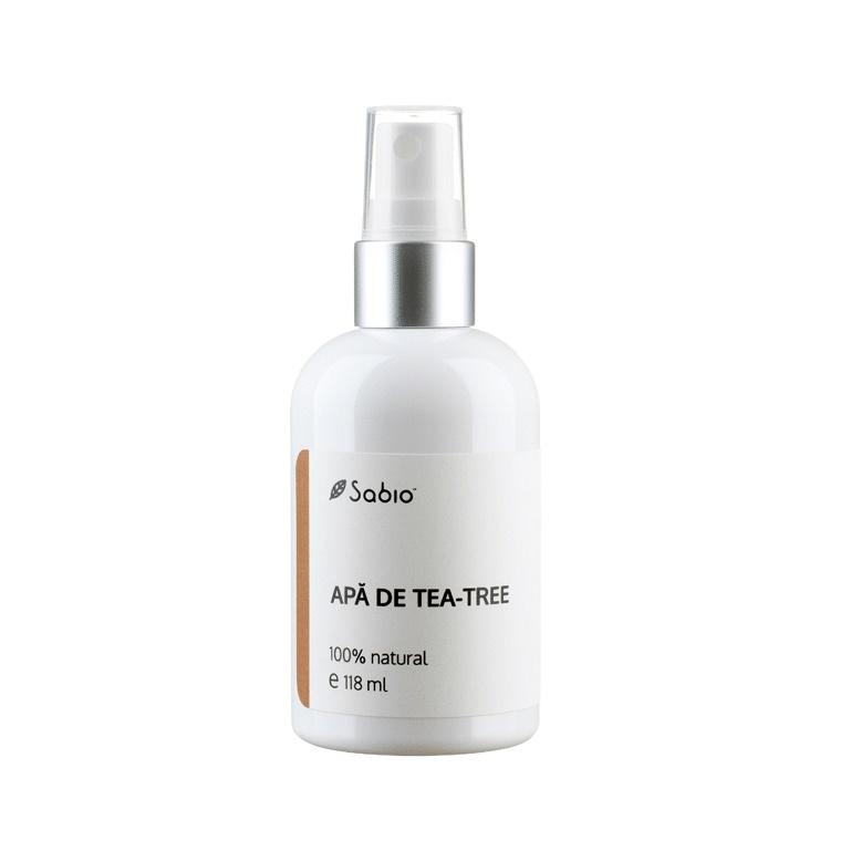 Apă de tea tree, 118 ml, Sabio