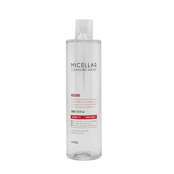 Apa micelara fara clatire, cu efect hidratant, 300ml, Apieu