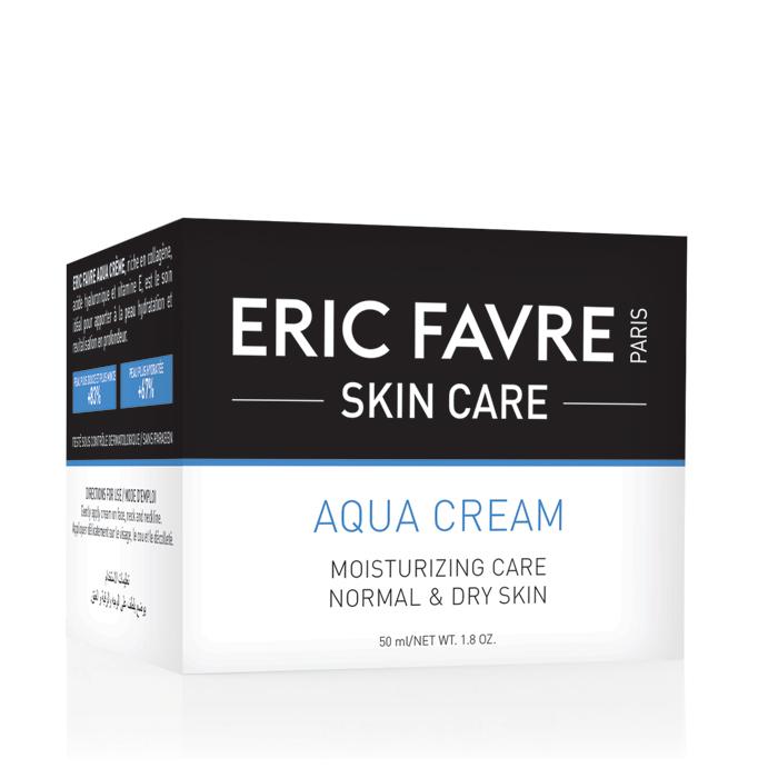 Cremă hidratantă Aqua, 50 ml, Eric Favre Wellness