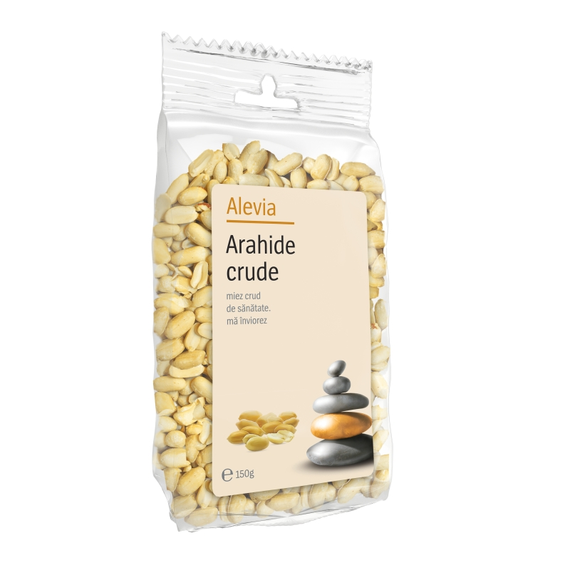 Arahide crude, 150 g, Alevia