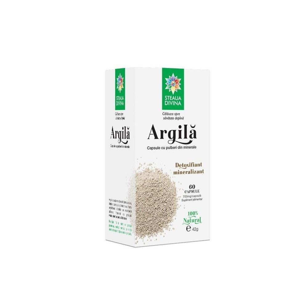 Argilă, 60 capsule, Steaua Divină