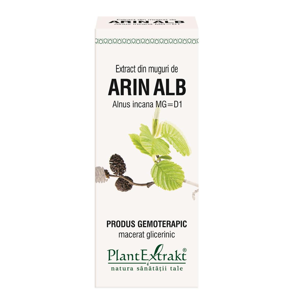Extract din muguri de Arin Alb, 50 ml, Plant Extrakt