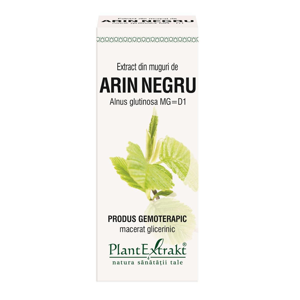 Extract din muguri de Arin Negru, 50 ml, Plant Extrakt