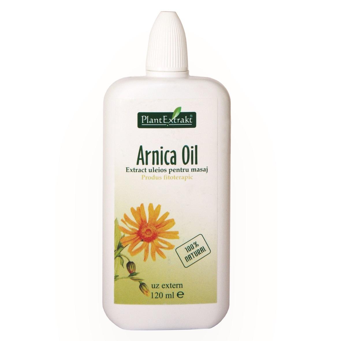 Arnică Oil, 120 ml, Plant Extrakt