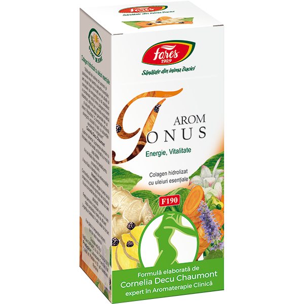 Arom Tonus, F190, complex medicinal sub formă de pulbere, 80 g,  Fares