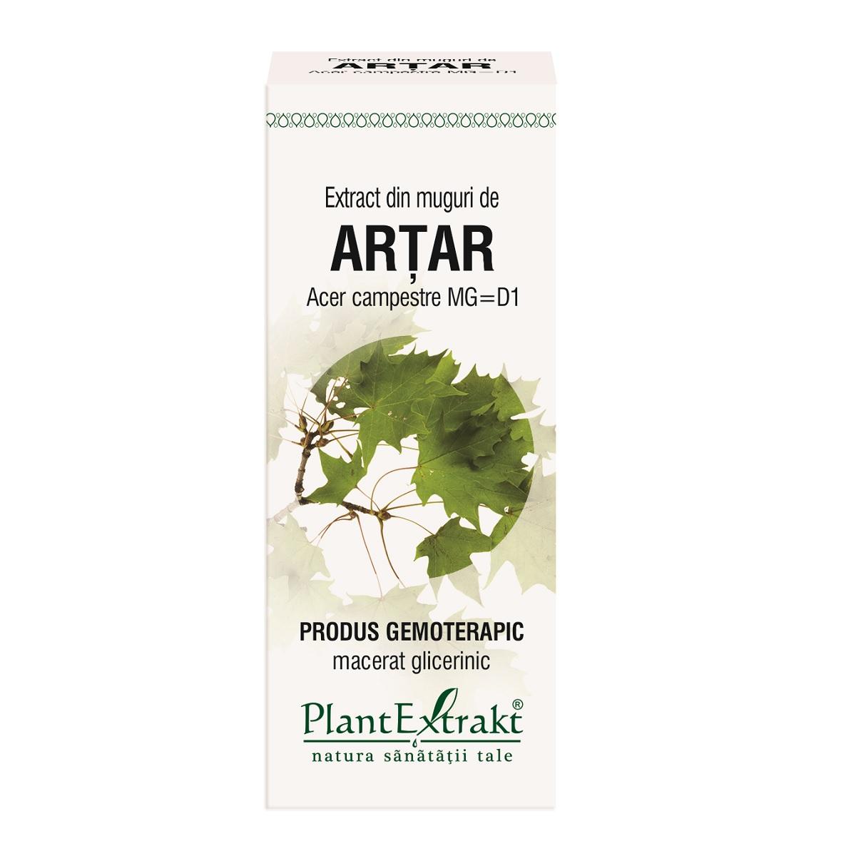 Extract din muguri de Arțar, 50 ml, Plant Extrakt