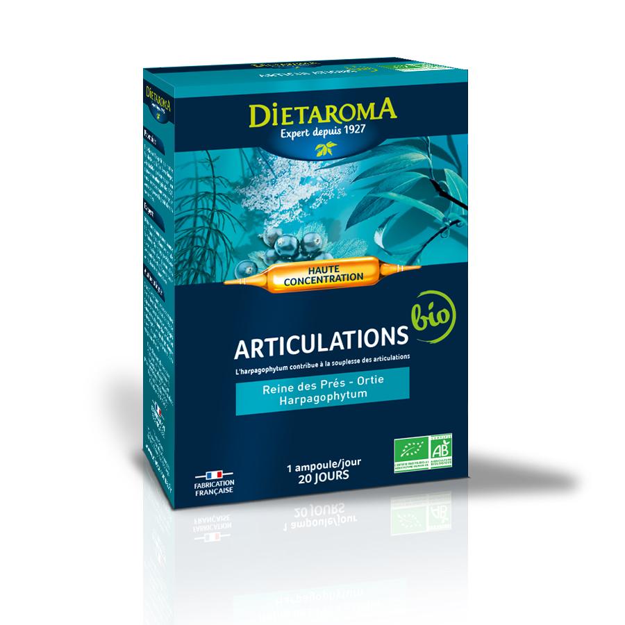 Articulatii Articulations, 20 fiole, Laboratoires Dietaroma