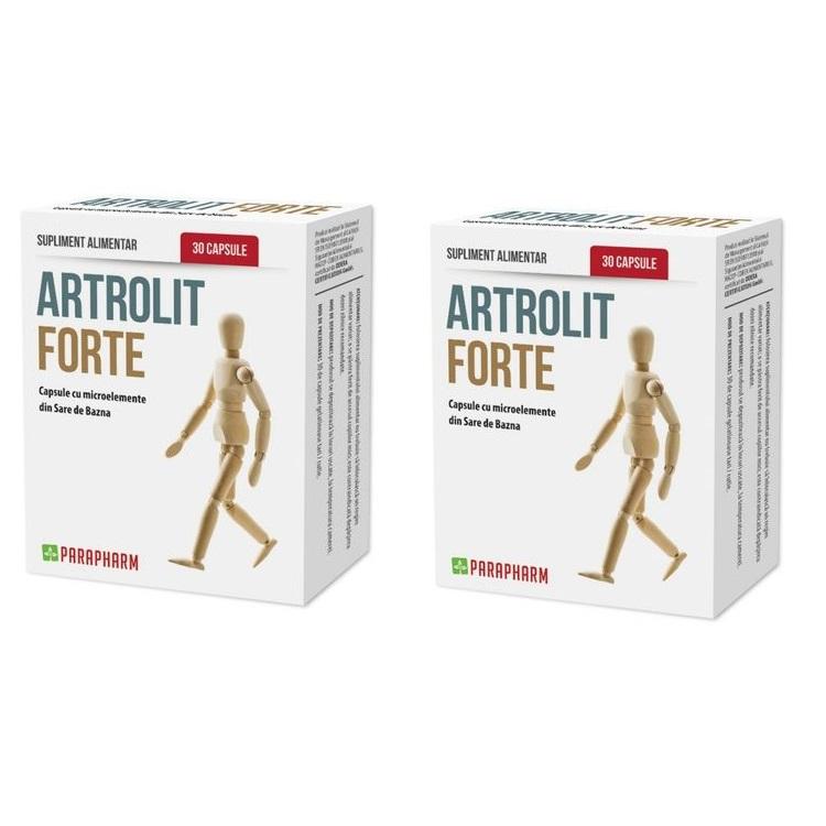 Pachet Artrolit Forte, 30 + 30 capsule, Parapharm