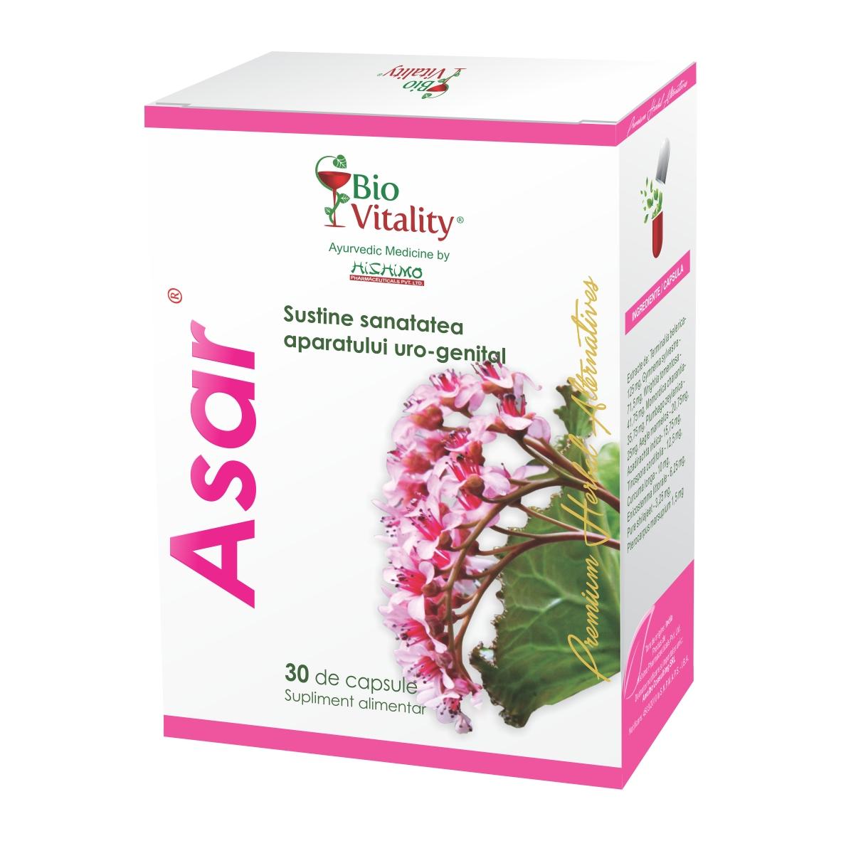 Asar, 30 capsule, Bio Vitality
