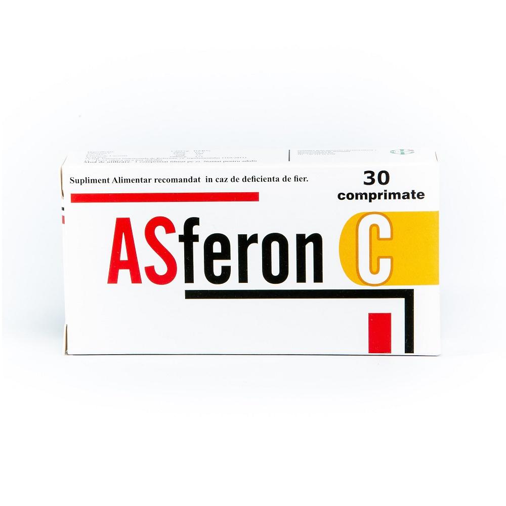 ASferon C, 30 comprimate, Pharmex