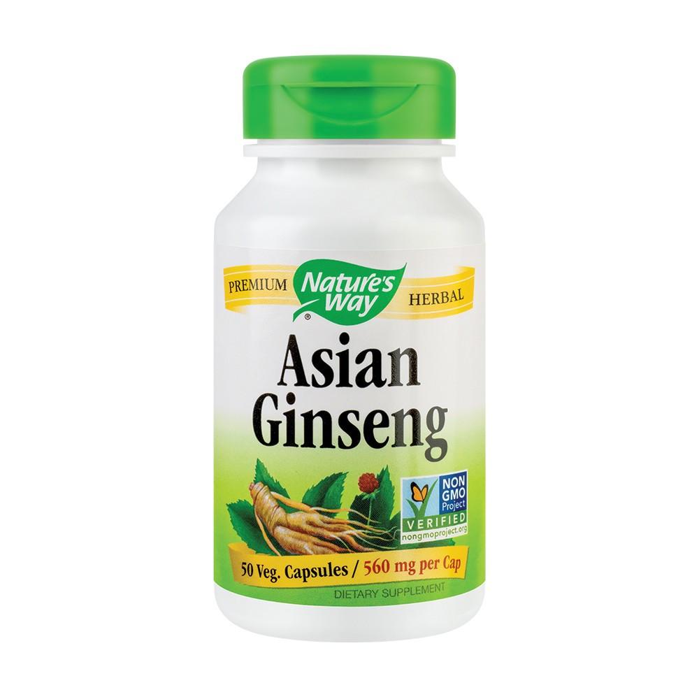 Asian Ginseng 560 mg Nature's Way, 50 capsule, Secom
