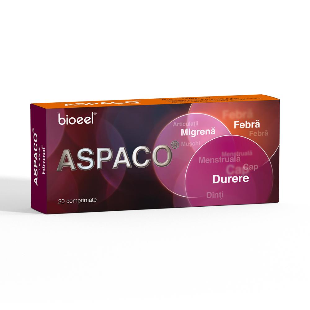 Aspaco, 20 comprimate, Bioeel