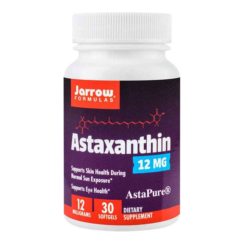 Astaxanthin 12mg Jarrow Formulas, 30 capsule, Secom