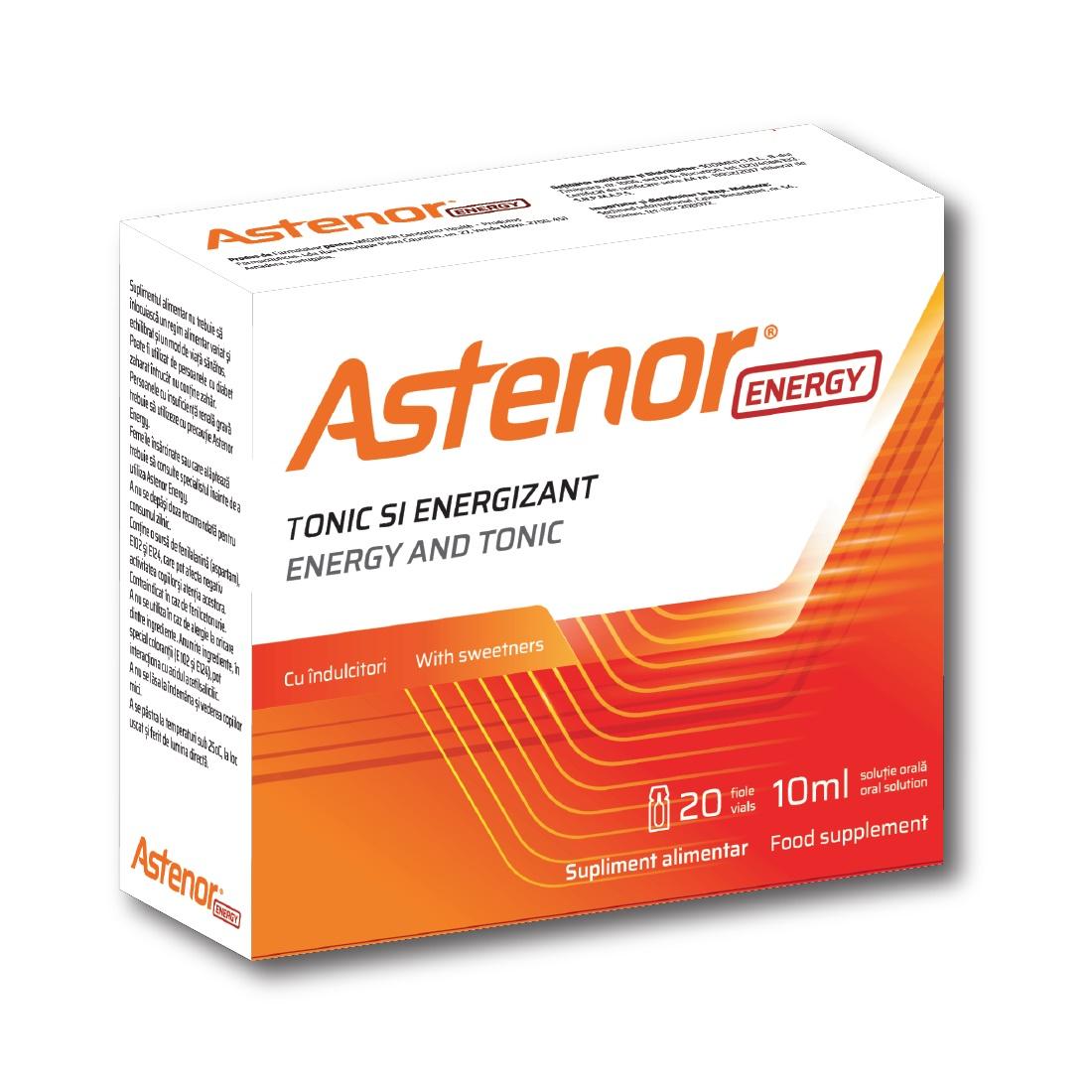 Astenor Energy, 20 fiole, Biessen Pharma