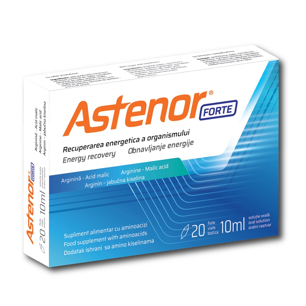 Astenor Forte, 20 fiole, Biessen Pharma