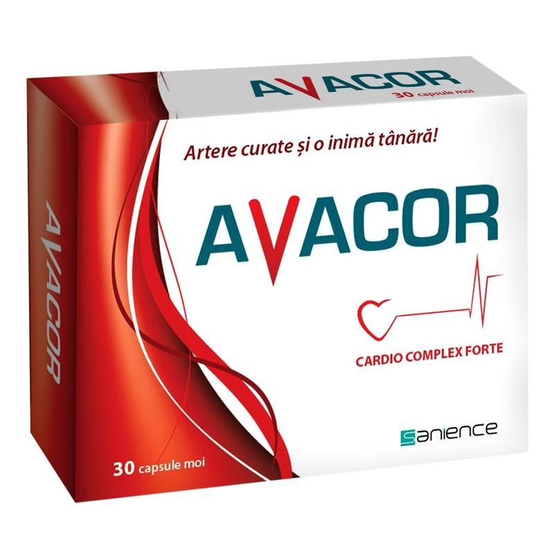 Avacor cardio complex forte, 30 capsule, Sanience