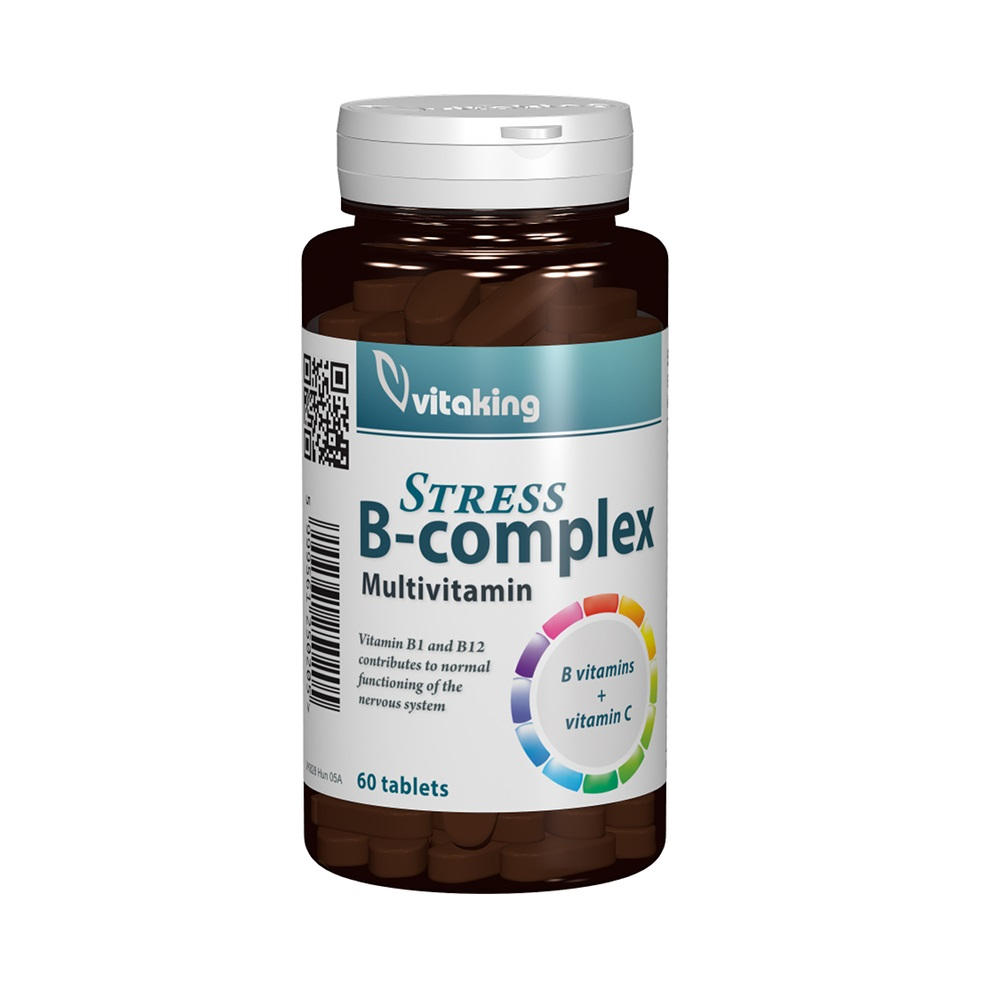 B-complex Stress, 60 tablete, VitaKing