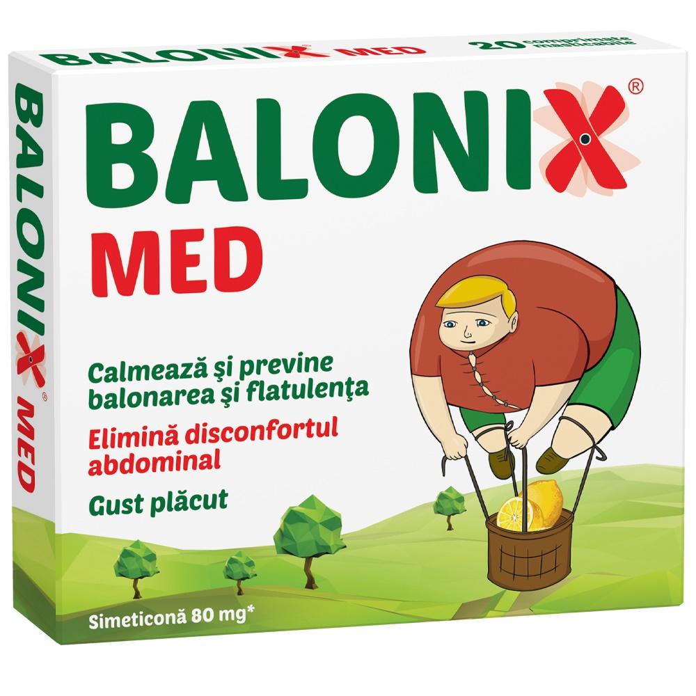 Balonix Med, 10 comprimate, Fiterman Pharma