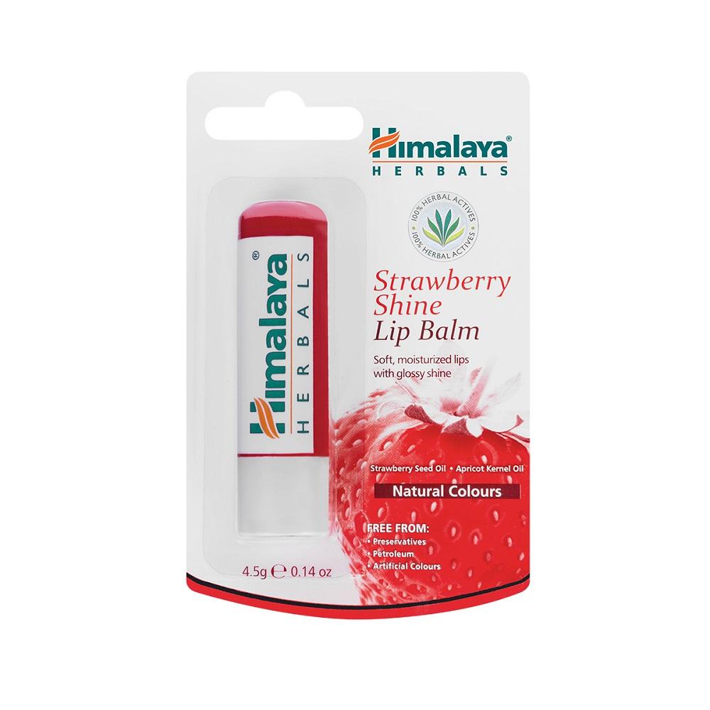 Balsam de buze cu căpșuni, 4.5 g, Himalaya