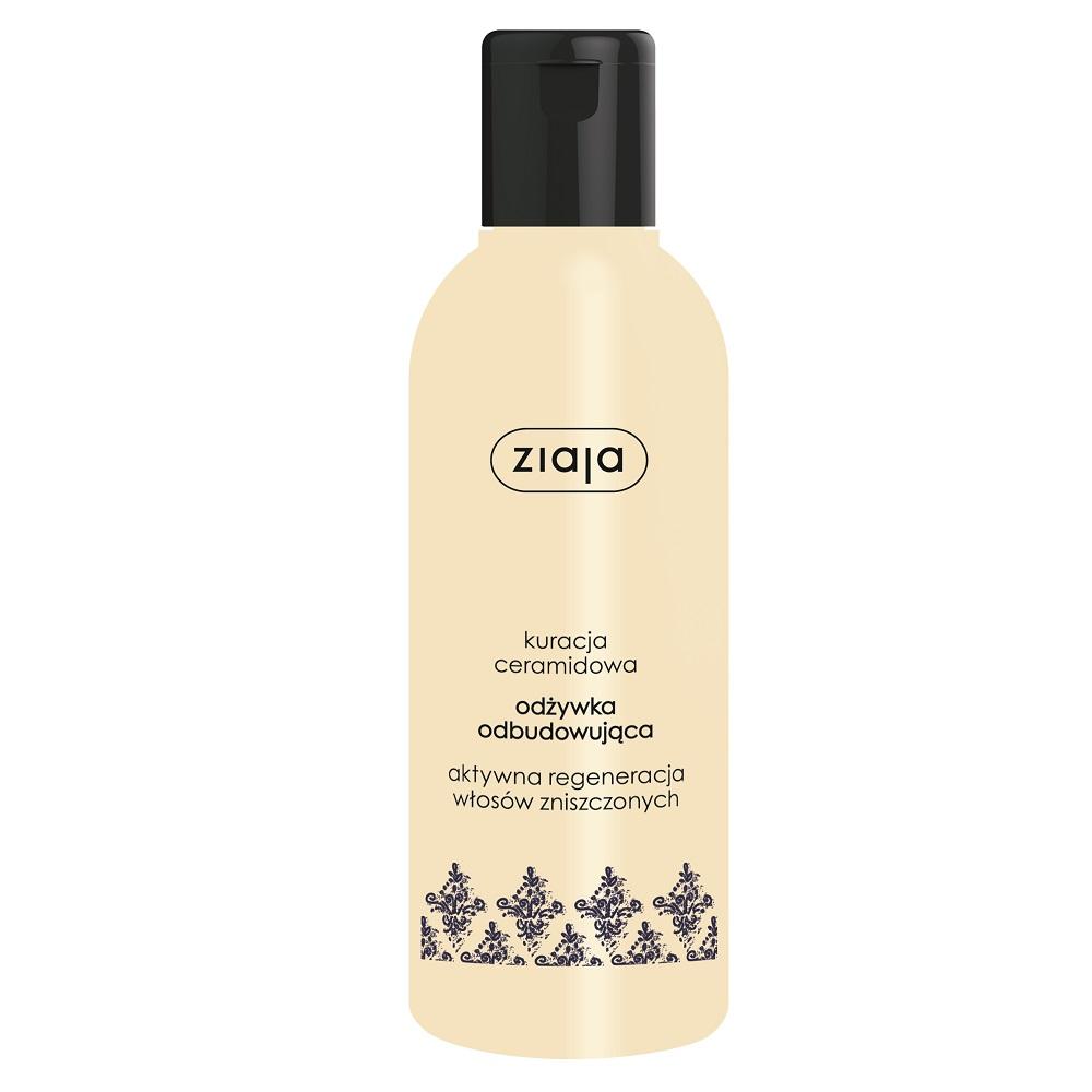 Balsam fară clătire cu ceramide pentru păr fragil și deteriorat, 200 ml, Ziaja