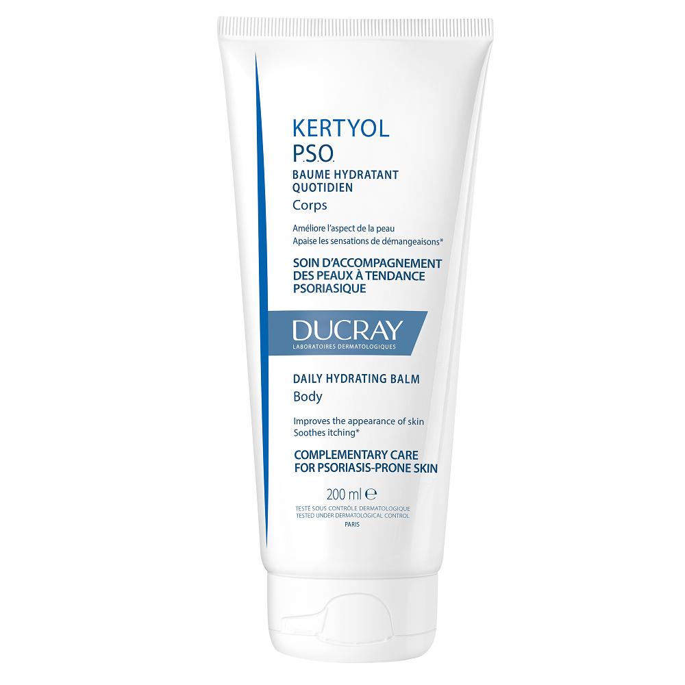 Balsam hidratant pentru piele cu scoame uscate si ingrosate Kertyol PSO, 200 ml, Ducray