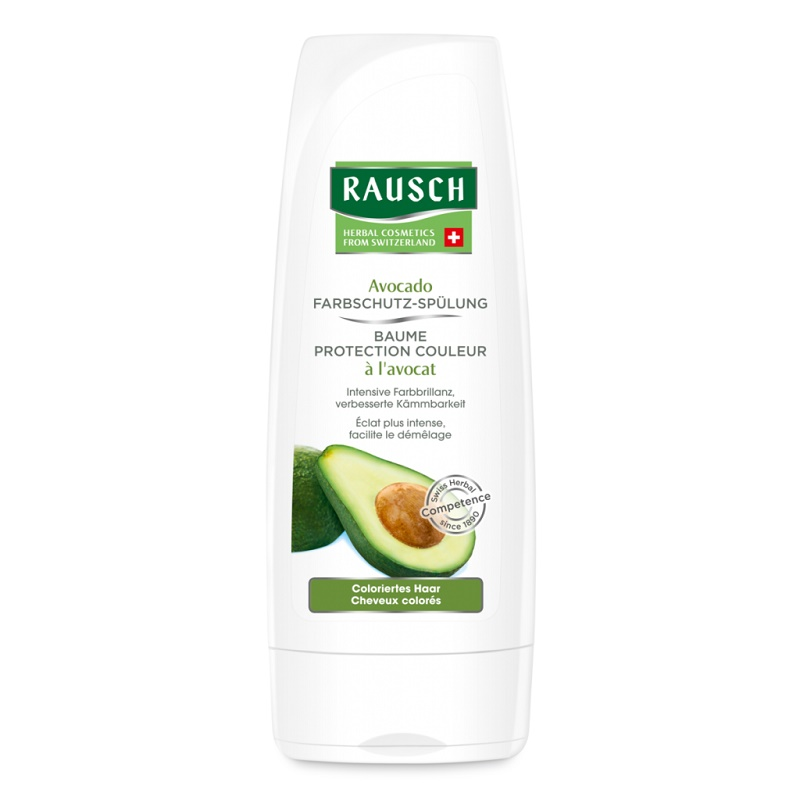 Balsam pentru par vopsit cu avocado, 200 ml, Rausch