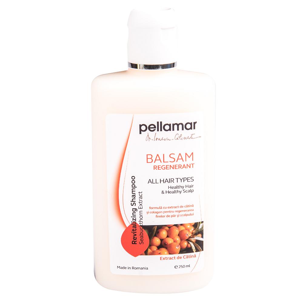 Balsam regenerant cu ulei de catina Beauty Hair, 250 ml, Pellamar