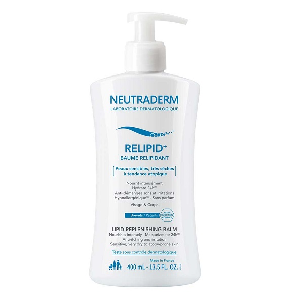 Balsam relipidant Relipid+ Neutraderm, 400 ml, Gilbert