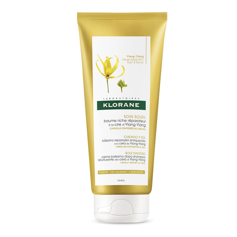 Balsam cu ylang-ylang pentru par expus la soare, 200 ml, Klorane