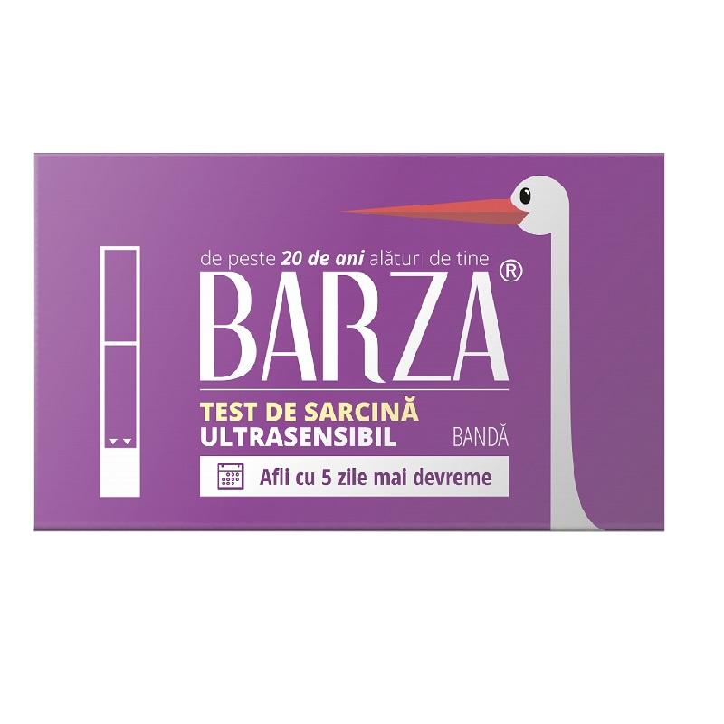 Test de sarcină bandă ultrasensibil Barza, Biotech Atlantic USA