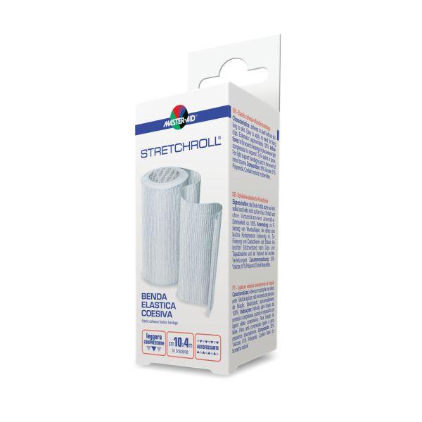 Bandaj elastic autoadeziv Stretchroll, 4mx10cm, Pietrasanta Pharma