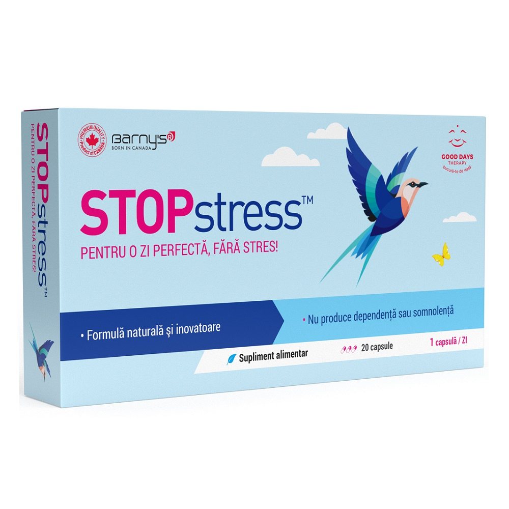 Barny's Stopstress, 20 capsule, Good Days Therapy