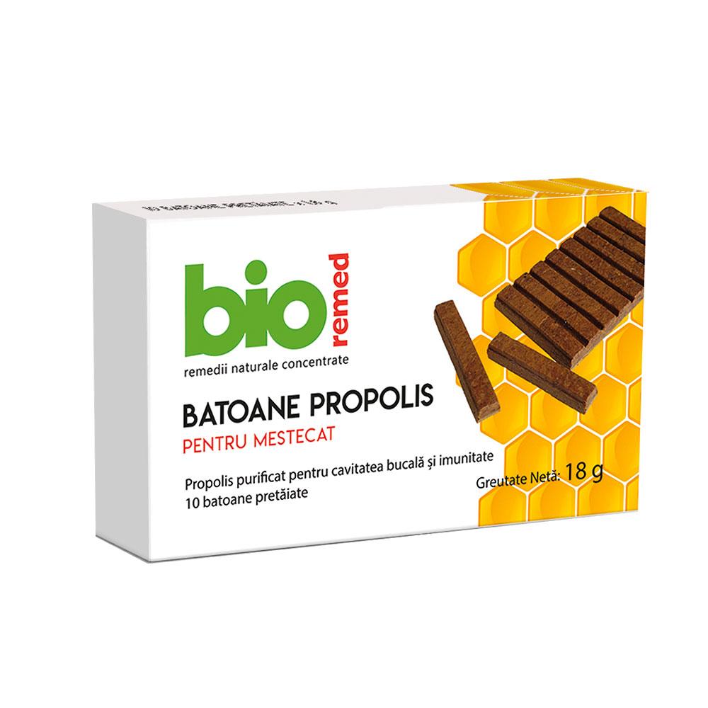 Batoane propolis, 18g, Bioremed