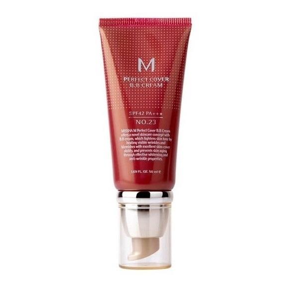 BB Cream M Perfect Cover SPF42/PA+++ nuanta 23, 50 ml, Missha