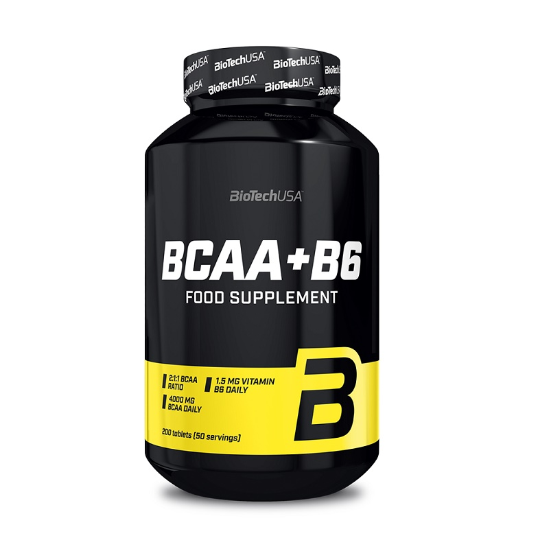 BCAA + B6, 100 tablete, Biotech USA