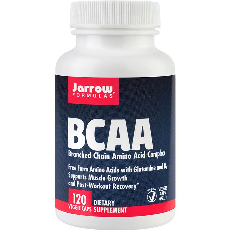 BCAA Jarrow Formulas, 120 capsule, Secom
