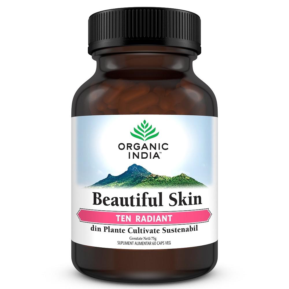 Beautiful Skin, Ten Radiant, 60 capsule, Organic India