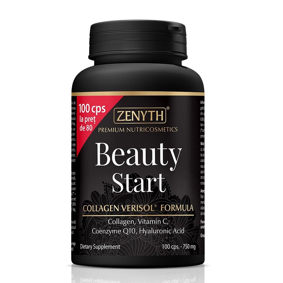Beauty Start, 100 capsule la pret de 80, Zenyth