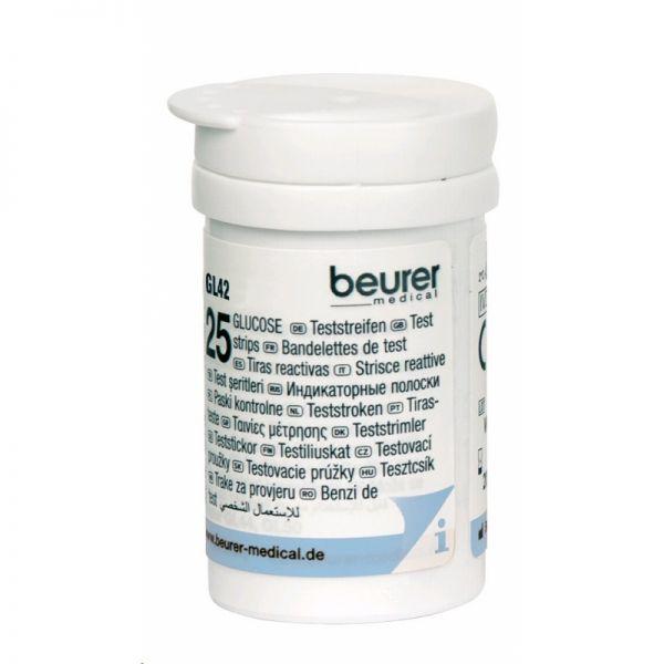 Teste glicemie GL42, 50 bucăți, Beurer