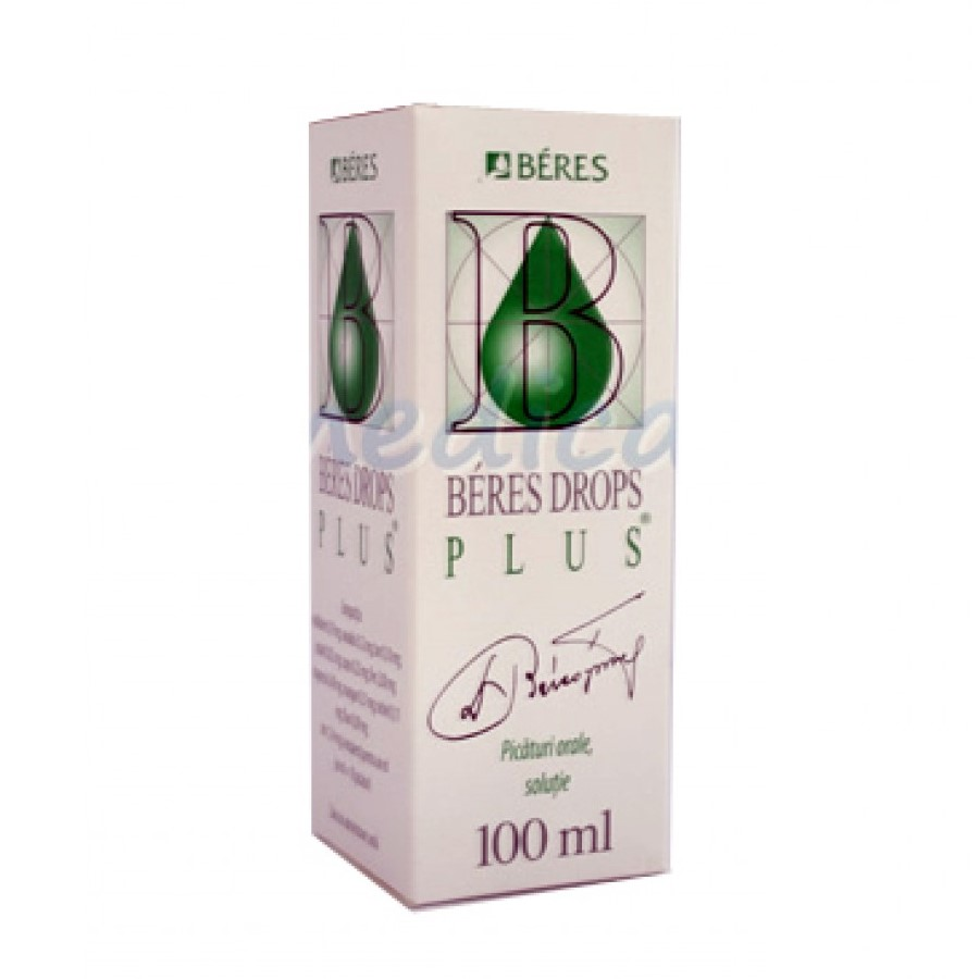 Beres Drops Plus, 100 ml, Beres Pharmaceuticals Co