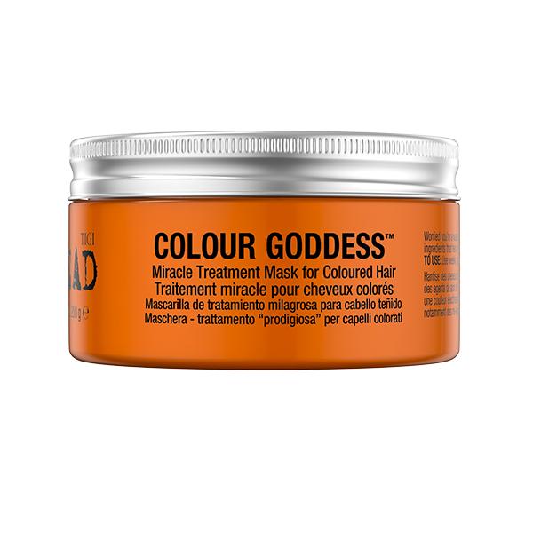 Mască pentru păr colorat Bed Head Styling Colour Goddess Oil Infused, 200 g, Tigi