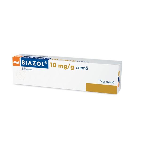 Biazol 10 mg/g cremă, 15g, Gedeon Richter Romania