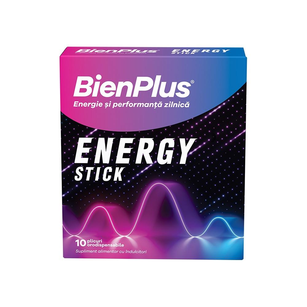 BienPlus Energy Stick, 10 plicuri orodispersabile, Fiterman