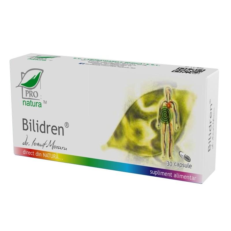 Bilidren, 30 capsule, Pro Natura
