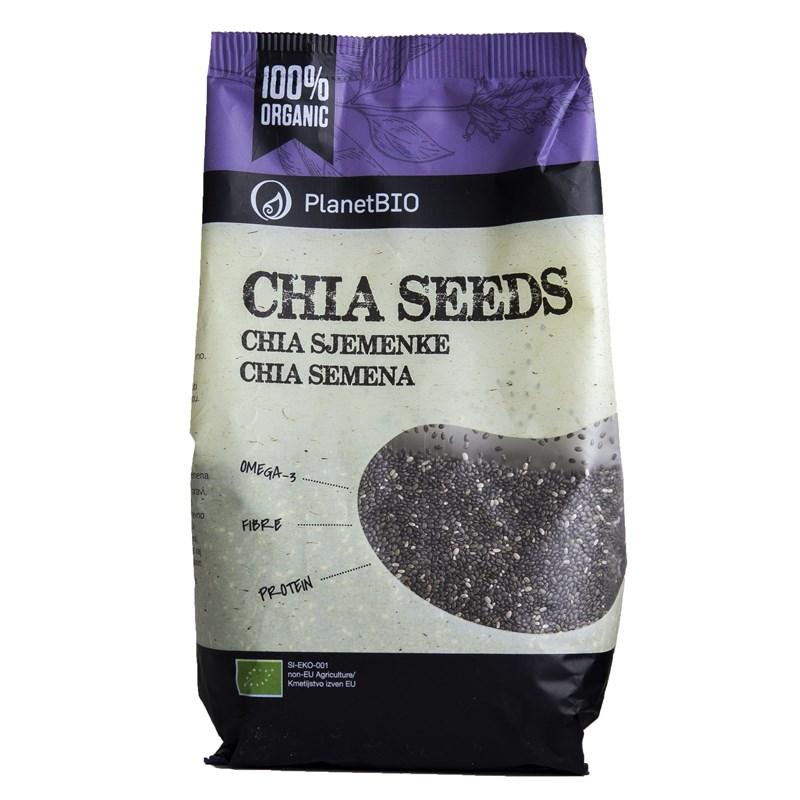 Seminte de chia eco, 300 g, Planet Bio